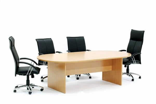 Ergoplan Boardroom Table 2400W x 1200D Express Tawa - pr_401604