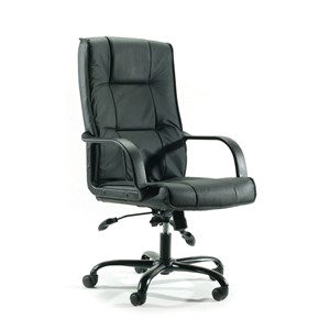 Knight Falcon Highback PU Leather Chair