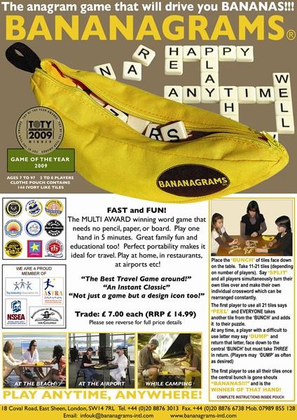 Bananagrams -