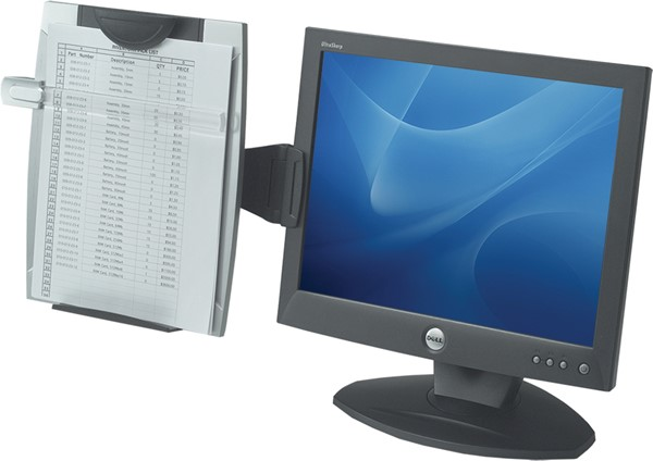 Fellowes Office Suites Monitor Mounted Copyholder -