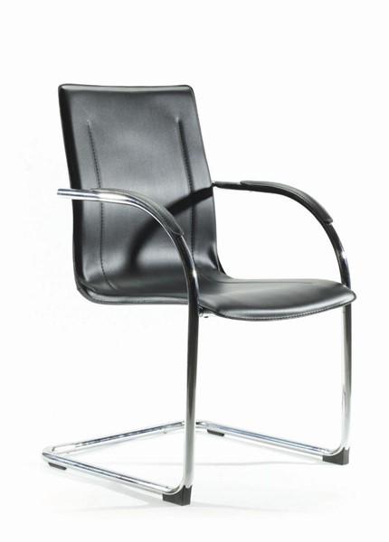 Knight Matrix Guest Chair Black Standard Leatherette - pr_401668