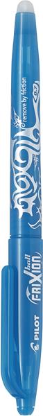 Pilot Frixion Rollerball Pen Fine light Blue -