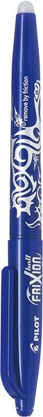 Pilot Frixion Rollerball Pen Fine Blue -