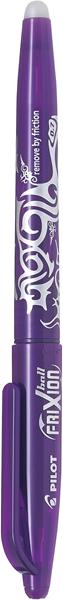 Pilot Frixion Rollerball Pen Fine Violet -
