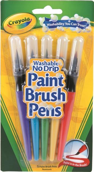 Crayola Paint Brush Pens 5 Pack -