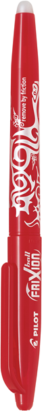 Pilot Frixion Rollerball Pen Fine Red -