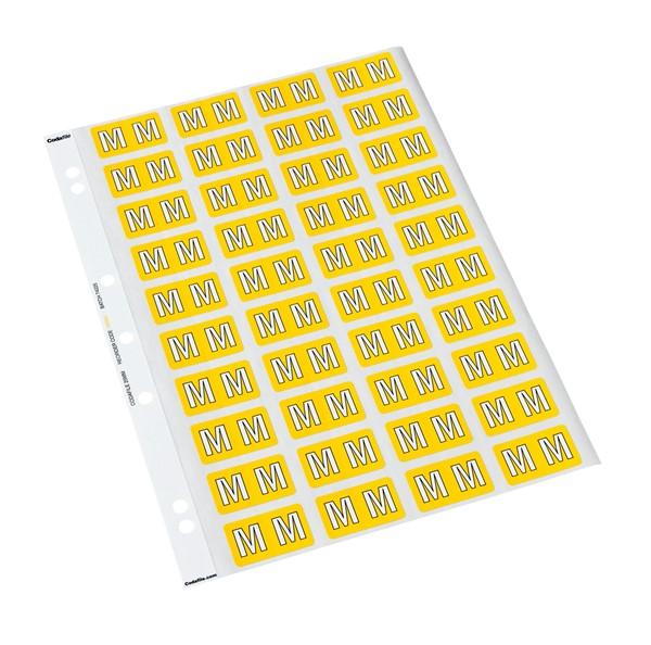 Codafile Labels M 25mm Sheet 5 - pr_402014