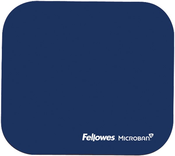 Fellowes Mouse Pad with Microban Navy -