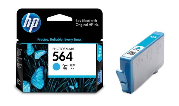 HP Ink Cartridge CB318WA 564 Cyan - pr_402304