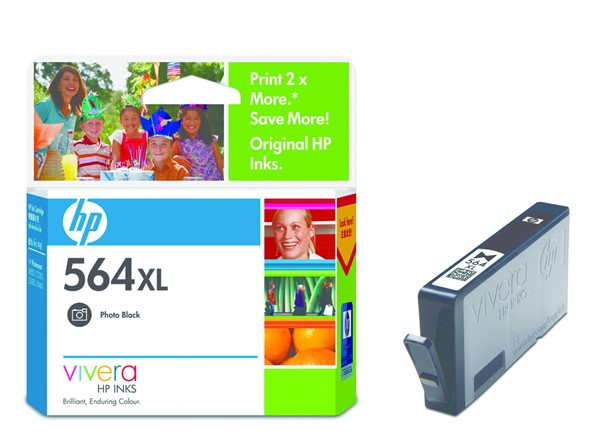 HP Ink Cartridge CB322WA 564XL Photo Black High Capacity - pr_402305