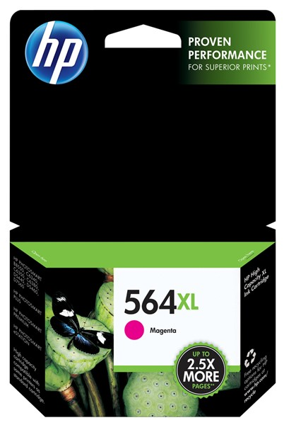 HP Ink Cartridge CB324WA 564XL Magenta High Capacity - pr_402308