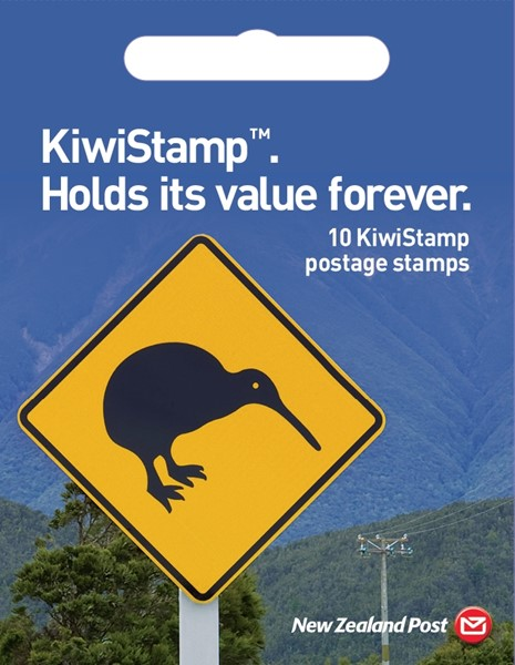 New Zealand Post Kiwistamp Booklet Of 10 - pr_1702512