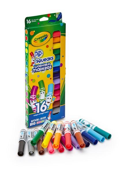 Crayola Felt Pens Pipsqueeks 16 Pack - pr_1702414