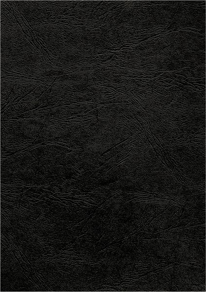 Fellowes Binding Covers Leatherboard A4 250gsm Black Pack 100 - pr_1721272