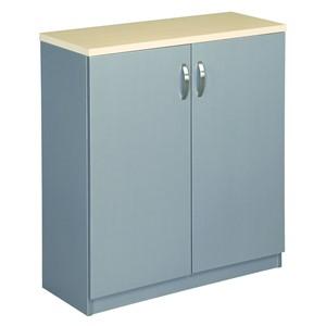Eko Cupboard 900 x 800 Maple/Silver