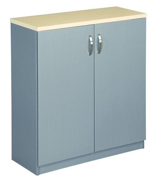 Eko Cupboard 900 x 800 Maple/Silver -