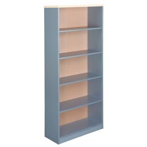 Eko Bookcase 1800H x 800W Maple/Silver