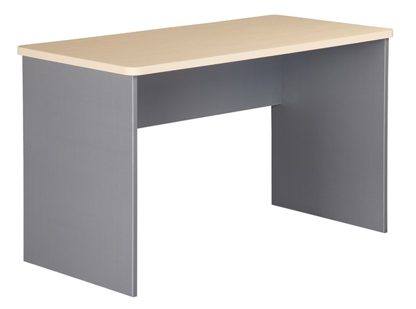 Eko Desk 1200 x 600 x 730 Maple/Silver - pr_402827