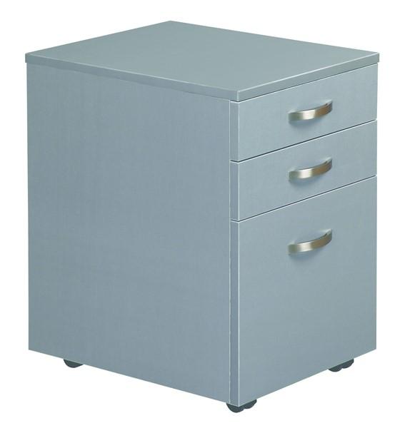 Eko 2 Drawer And File Mobile 400W x 500D Silver - pr_402832