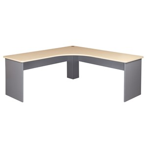 Eko Workstation 1500 x 1500 Maple/Silver