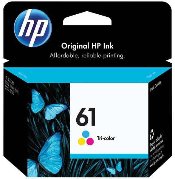 HP Ink Cartridge CH562WA 61 Tri-Colour - pr_427487