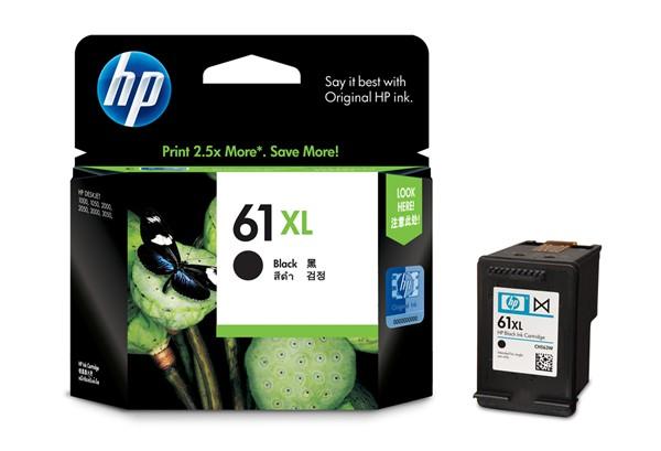 HP Ink Cartridge CH563WA 61XL Black High Capacity -