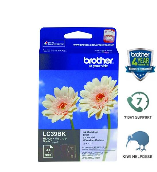 Brother Ink Cartridge LC39BK Black -