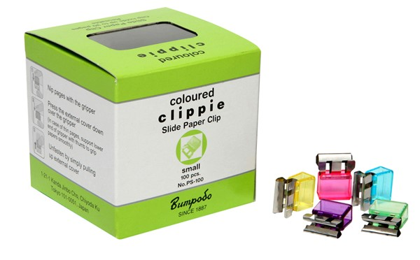Clippie Clips Small Assorted Colours Pack 100 -