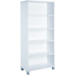 Cubit Bookcase 1800H White