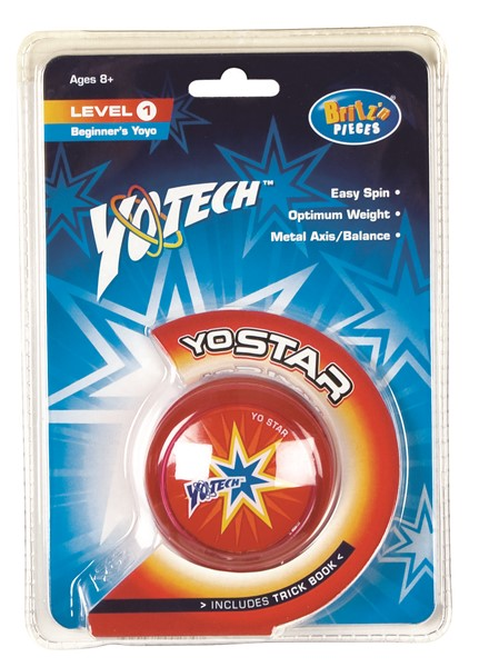 Britz N Pieces Yotech Yo Star - Level 1 - ASSORTED COLOURS AVAILABLE -