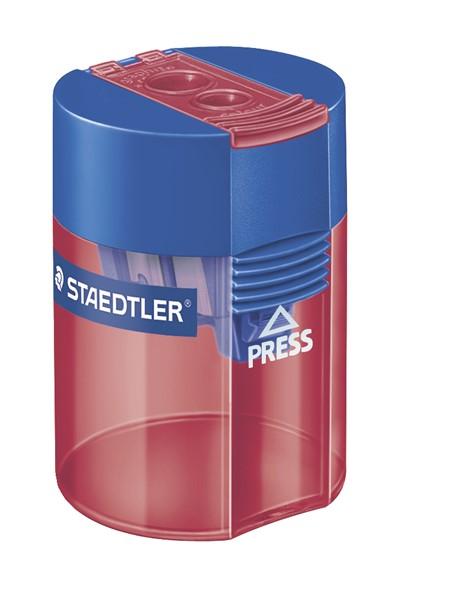 Staedtler Sharpener Double Hole Assorted -