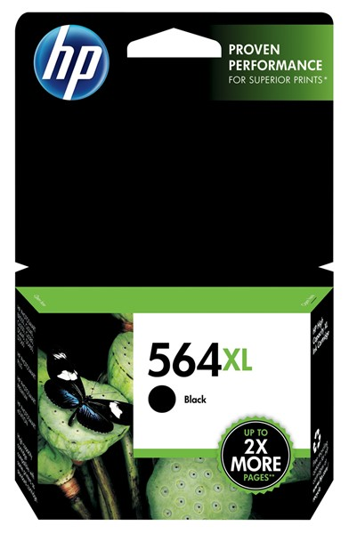 HP Ink Cartridge CN684WA 564XL Black High Capacity - pr_427503