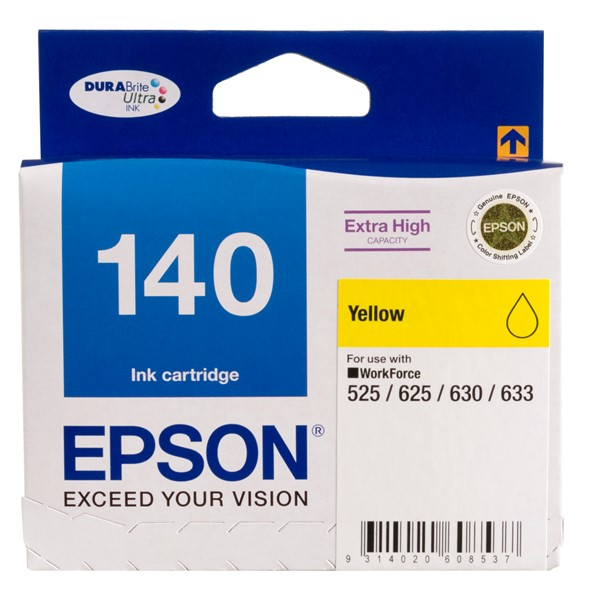Epson Ink Cartridge 140 Yellow Extra High Yield -