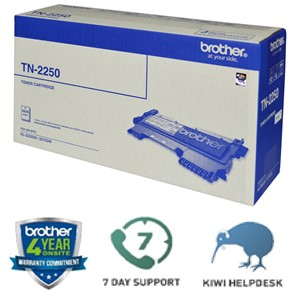 Brother Toner TN2250 Black High Capacity