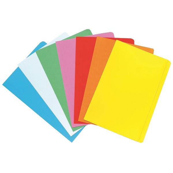 Marbig Manilla Folder Foolscap Assorted, Pack of 20 -