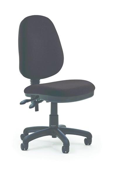 Knight Holly 2 Highback Chair Crown Ebony -