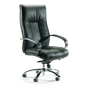 Knight Legend Highback Chair Black PU
