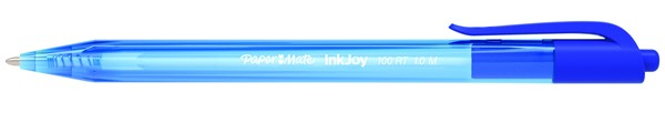 Papermate Ballpoint Pen Medium Inkjoy 100RT Blue - pr_403303