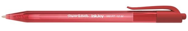 Papermate Ballpoint Pen Medium Inkjoy 100RT Red -