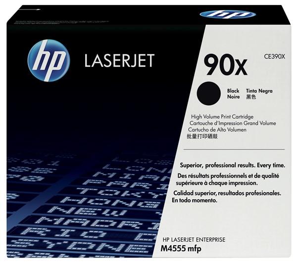 HP Toner CE390X 90X Black High Capacity -