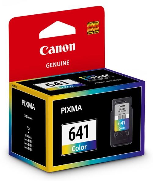 Canon Ink Cartridge CL641 Tri-Colour -