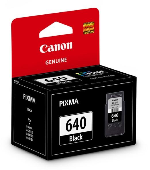 Canon Ink Cartridge PG640 Black -