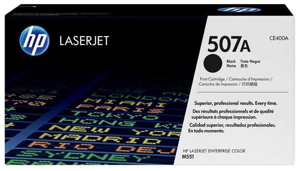 HP Toner CE400A 507A Black -