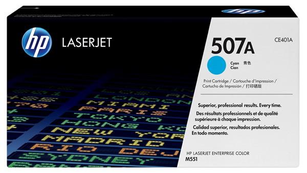 HP Toner CE401A 507A Cyan -