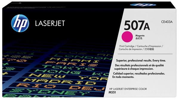 HP Toner CE403A 507A Magenta -