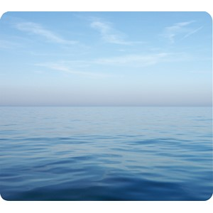 Fellowes Recycled Optical Mouse Pad Blue Ocean