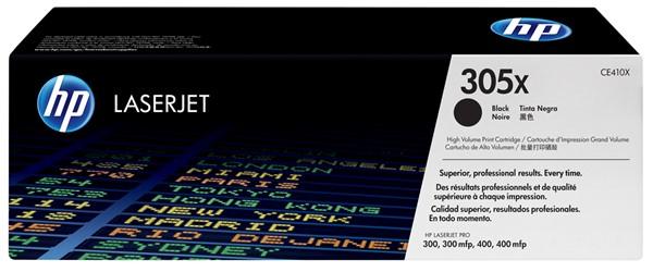 HP Toner CE410X 305X Black High Capacity -