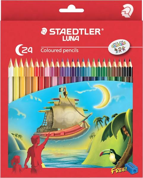 Staedtler Luna Coloured Pencil Full Length 24pk -