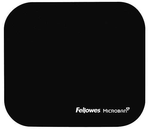 Fellowes Mouse Pad with Microban Black -