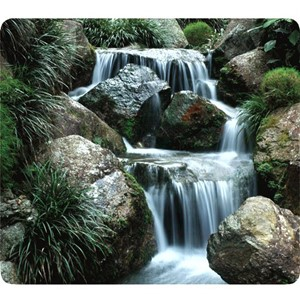 Fellowes Recycled Optical Mouse Pad Waterfall
